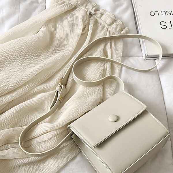 Túi xách nữ đeo chéo nhỏ xin mềm mại phong cách Hàn