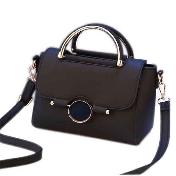 Túi xách nữ thời trang khóa tròn