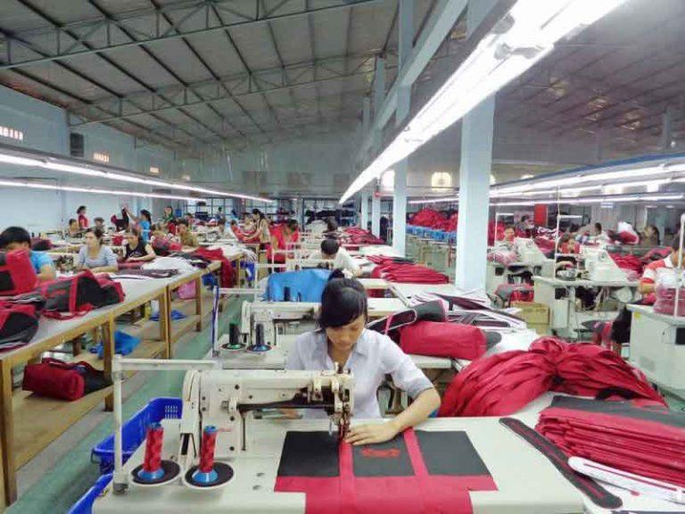 Xưởng may túi xách Thiên Phú