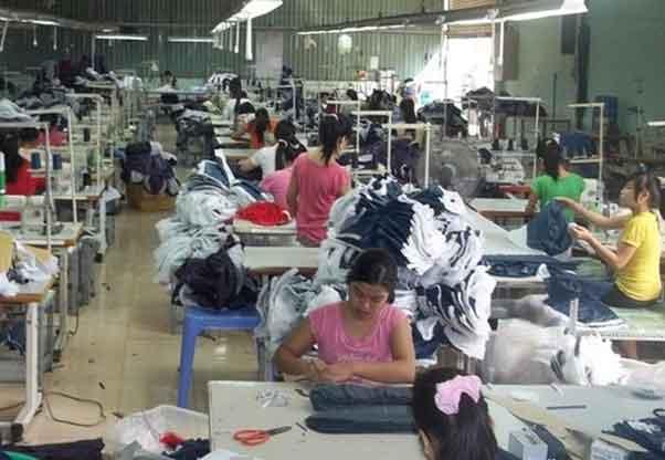Cơ sở may balo Thiên Phú