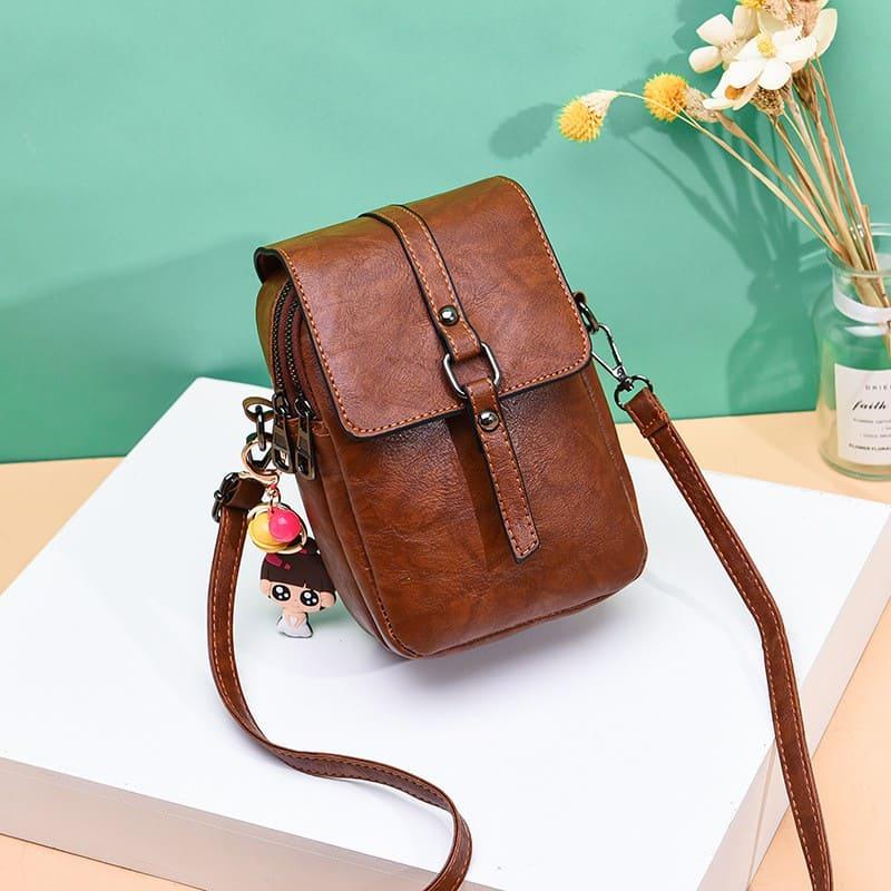 Túi đeo chéo đựng điện thoại nữ da-min