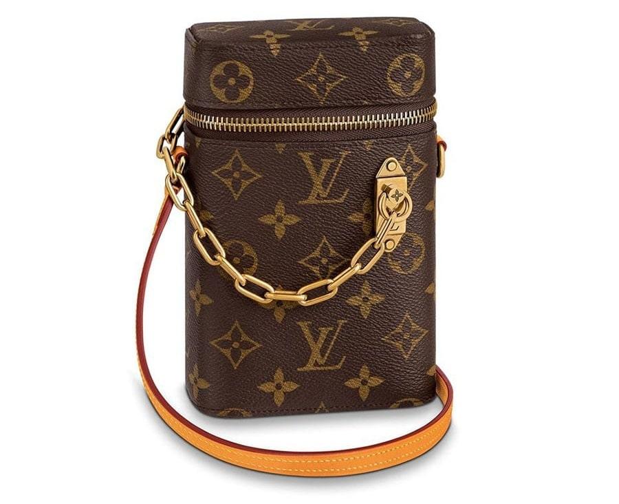 Túi đeo chéo đựng điện thoại nữ hãng LV sang