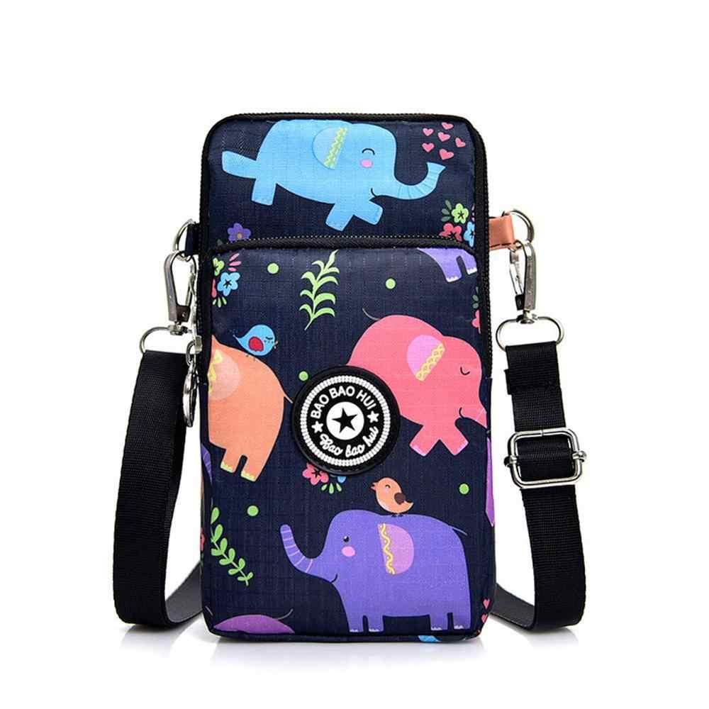 Túi đeo chéo đựng điện thoại nữ vải
