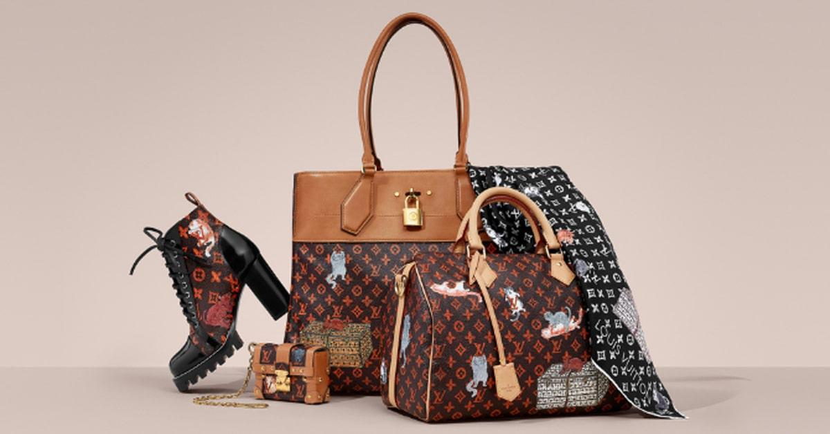 Túi xách thương hiệu Louis Vuitton – Pháp-min