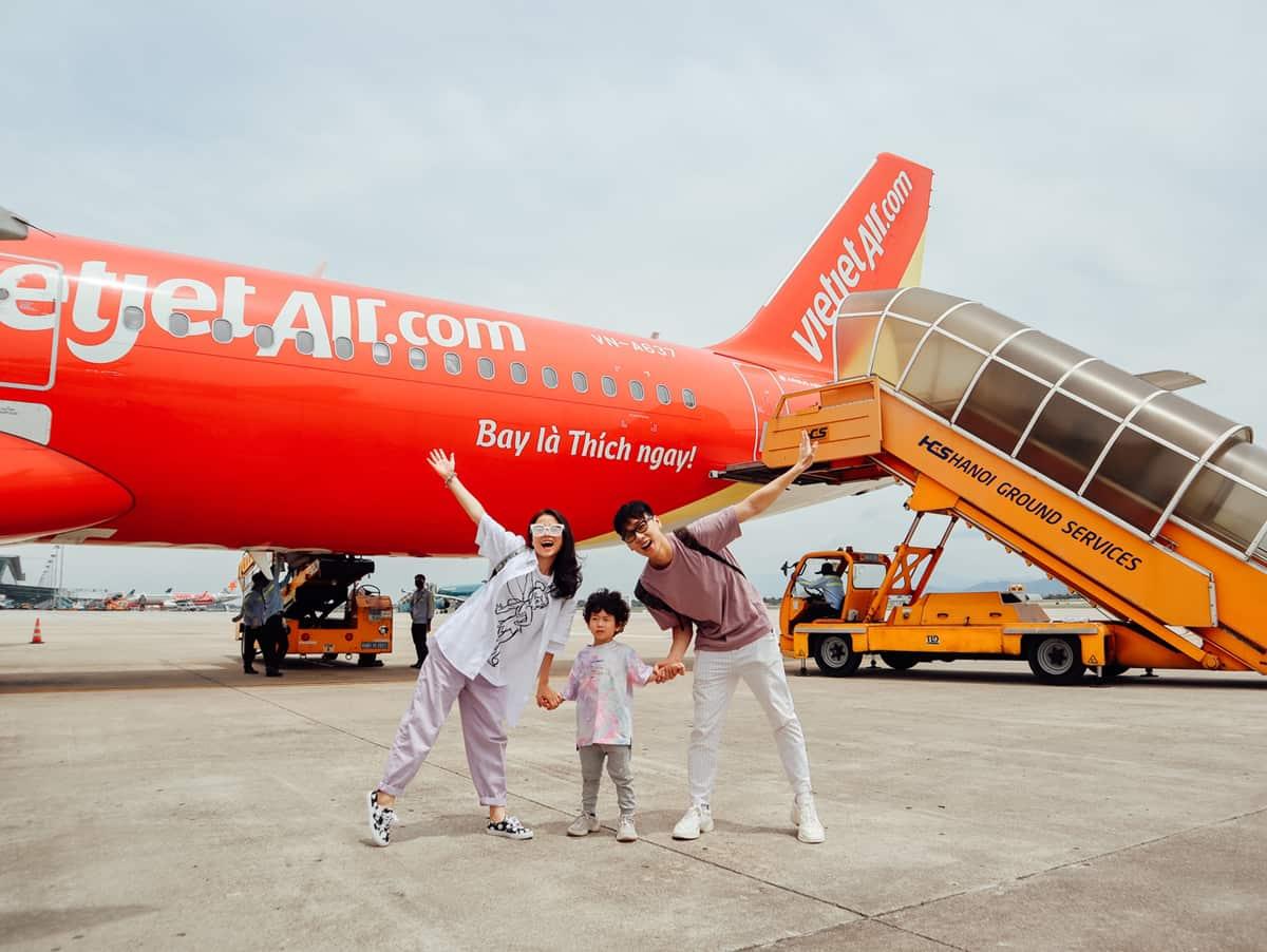 Quy định hành lý xách tay lên máy bay Vietjet